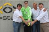 Alfons Loos (hl-studios), Max Deussen, Carsten Bissel (Bissel & Partner) und Rainer Staudt