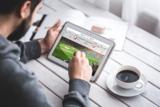 Darstellung einer Fußballanalyse auf einem mobilen Endgerät