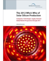 The 2012 Who's Who of Solar Silicon Production (c) Bernreuter Research