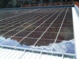 Photovoltaikanlage mit mikromorphen Dünnschichtmodulen in Serra Riccó (Italien). Copyright: Vario