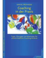 Neues Buch der Coach-Ausbilderin Sabine Prohaska