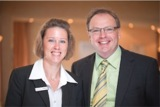 Kerstin Kruse und Uwe Peters freuen sich auf ihre Gäste im Bio-Hotel Miramar!