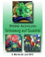 Dodo Achilles: Grünzeug auf Quadrat