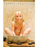 Im Familien Erlebnis Hotel Post dürfen Kinder auch in der Beauty-Abteilung die erste Rolle spielen.