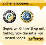 Sicher shoppen mit Trusted Shops Zertifikat bei selleros.com.