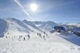 Pistenpanorama im Skiparadies Reschenpass