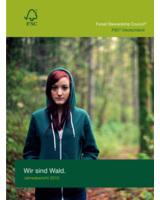 Titelseite des FSC-Jahresberichts 2010