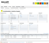 Screenshot Productselector