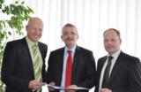 Robert Bauer, Bertram Brossardt und Andreas Gundel (von links nach rechts)