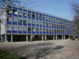 Fassadenansicht  Max-Born-Gymnasium in Backnang  mit  3-fach Isolierglas  ISO-Shadow