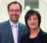 Claus Vogt und Anette Rottmar, wvp GmbH