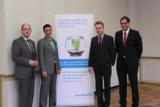 (v. l.): Michael Stolte, Dirk Markus, Werner Vosse und Jochen Dornseifer.