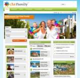 Die Startseite von www.clubfamily.de