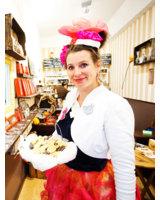 Berliner Keks-Queen im Atelier Cacao