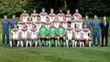 DFB U19 Fussball Nationalmannschaft zu Besuch im Golf Resort Achental