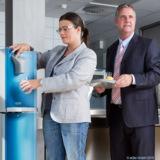 aQto Wasserspender in Kantinen