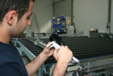 Qualitätskontrolle, Praxistest, Materialtest, Prüfbericht, Lasertechnik