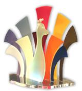 eurolaser Muster aus Acryl, PMMA, Plexiglas, Perspex