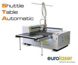 Der automatische Shuttletisch von eurolaser