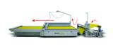 eurolaser's Conveyor System – Automatische Materialzufuhr für die endlose Bearbeitung von Textilien