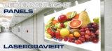 Acryl gravieren, Kunststoff Laserschneiden, Backlight-LED, Beleuchtung