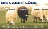 Laserleistung, Nennlesitung, garantierte Leistung