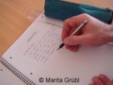 Schüler beim Erledigen der Hausaufgaben