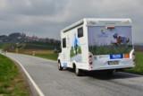 Das MyGoal Mobil auf Tour. Foto: Capron/Frank Kramer