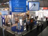 Messestand der DFGB, PREZIEHS, Dillinger Edelstahl und Perfox auf der BLECHEXPO 2009