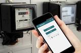 """Mit der App """"EnergieCheck"""" können die Zählerstände per Smartphone oder Tablet eingetragen werden."""