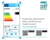 Die Scanner-Funktion der ecoGator-App testen