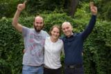 Große Freude bei kaneo: Das Team um Nele Lübberstedt hat den Energiesparcup Deutschland gewonnen.