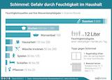 Schimmel: Gefahr durch Feuchtigkeit im Haushalt (c) www.co2online.de