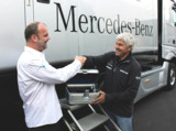 Mercedes AMG DTM Airnergy Toni Mathis und Guido Bierther