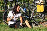 Der Weinfrühling: ein guter Tropfen, Sonne und Radspaß. Wir wünschen einen schönen Urlaub!