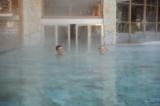 Schwimmen im beheizten Outdoorpool