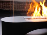 Flammenspiel eines Ethanol-Kamins
