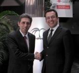 ERP-Großprojekt: PVB Geschäftsführer Mauro Parisi, Hubert Kofler, Geschäftsführer Würth Phoenix