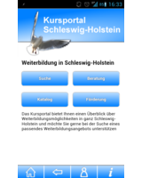 App Kursportal Schleswig-Holstein