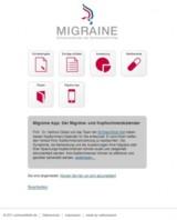 MigraineApp: Der neue online Migränekalender für Browser, iPhone und iPad