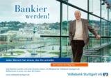 Vom Kommissar zum Bankier: Dietz-Werner Steck ist neues Testimonial der Volksbank Stuttgart eG.