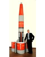Gardena Display-Rakete von HÖHN mit Verkaufsleiter M. Held