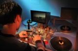 protel - traditioneller Filmschneidetisch für die Filmrestaurierung