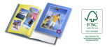Nachhaltige Produktion durch vollständig FSC®-zertifizierte Fotobücher