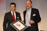 Dr. Wolfgang Jeschke (l), Infowerk-Vorstandschef Winfried Gaber (r)