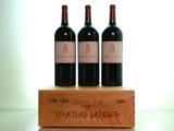 3 Magnumflasche Château Latour 2009 wechselten für 7050 Euro den Besitzer.