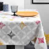 Tischdecken und Tischläufer aus reiner Baumwolle acrylbeschichtet