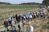"""Rund 150 Waldbesitzer protestierten auf der Veranstaltung """"Walderhaltung durch Pflanzenschutz""""."""