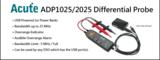 Aktive Differentialtastköpfe mit USB-Stromversorgung