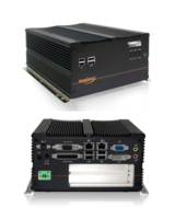 Lüfterloser Embedded-PC mit 2 x 1TB RAID Festplatte und PCI-Steckplatz